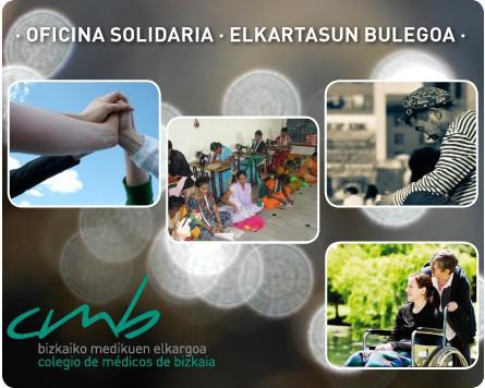 Bizkaiko Medikuen Elkargoak bulego 'solidarioa' duen webgunea sortu du kooperazioa sustatzeko