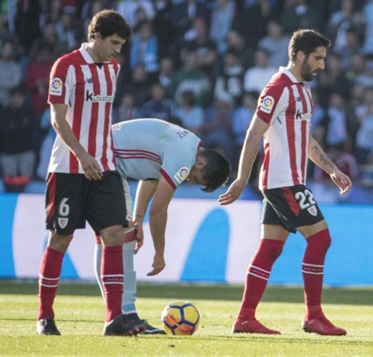 Celta 3-1 Athletic