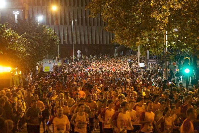 Bilbao Night Marathon lasterketa larunbatean izango da
