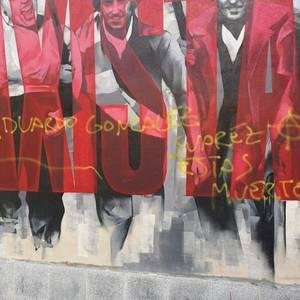Margoketa faxistak egin dituzte gaur gauean Alde Zaharrean