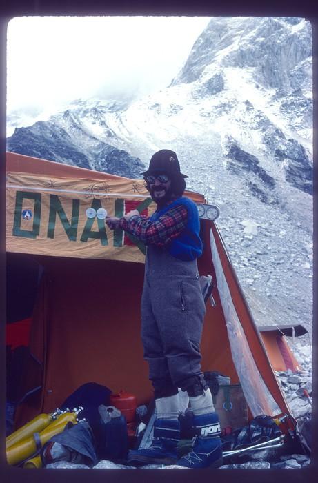 Euskal Espedizioa Everest gailurrean Emilio Hernandoren argazkietatik gogoratzen - 9