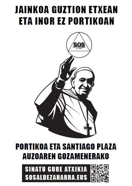 Santiago katedralaren elizpea auzotarren erabilerarako irekitzea eskatu dute