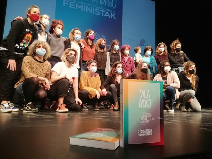 'Salda badago! Euskal Herriko V. Jardunaldi feministak' liburua kaleratu da