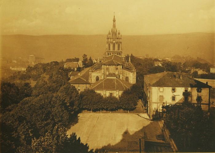 Begoña, 1896 urtean ikusita