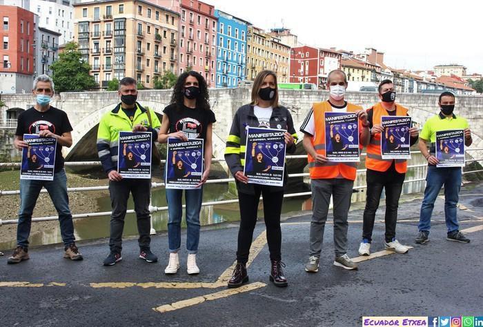 Petronor, Tubacex, UTE Bilboko Argiak eta PCB enpresa-batzordeek manifestazioa deitu dute bihar