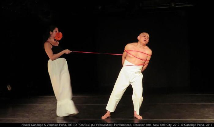 Hector Canonge eta Veronica Peñaren 'De lo nuestro' performancea aurkeztuko du BilbaoArtek
