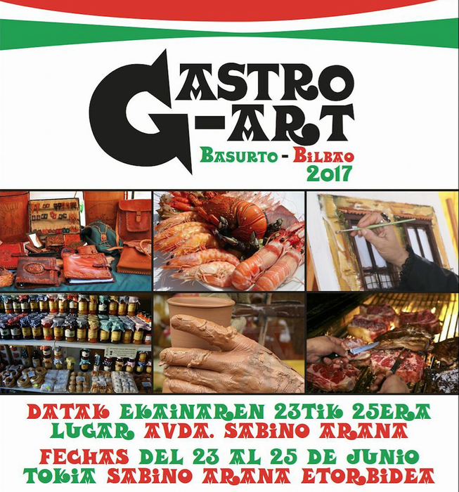 Gastro Art, gastronomia eta artearen topagunea Basurtun