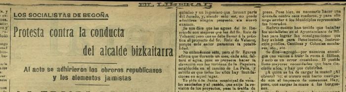 Carlos Orue, ahotan gehien ibilitako alkatea (II)