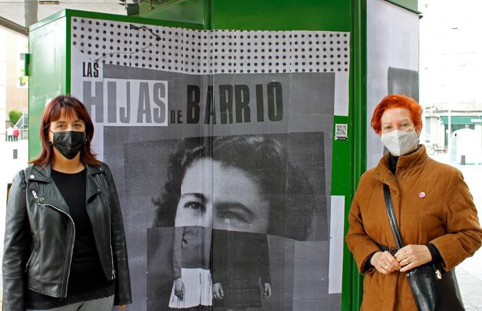 Otxarkoagako emakumeak omendu ditu Hijas del Barrio proiektuak