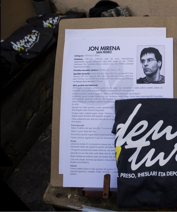 Jon Mirena San Pedro preso deustuarra Dueñaseko espetxera lekualdatu dute