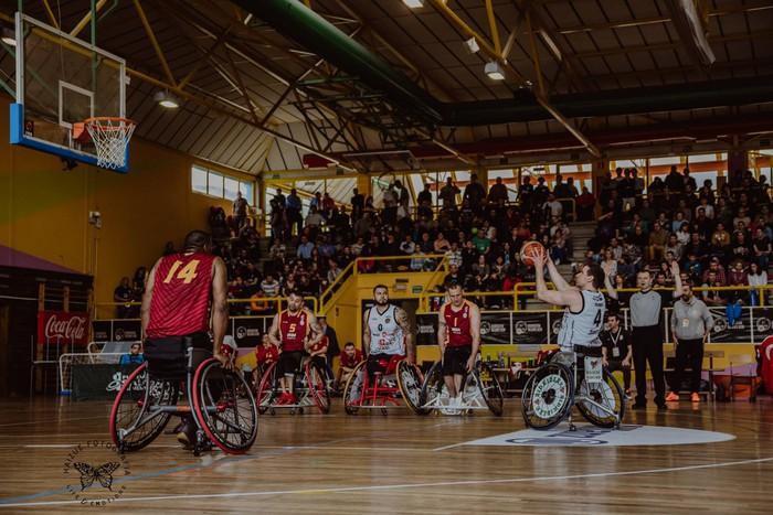 Bidaideak Bilbao BSR taldeak ezin izan du Europako gurpil aulkiko saskibaloi finala irabazi