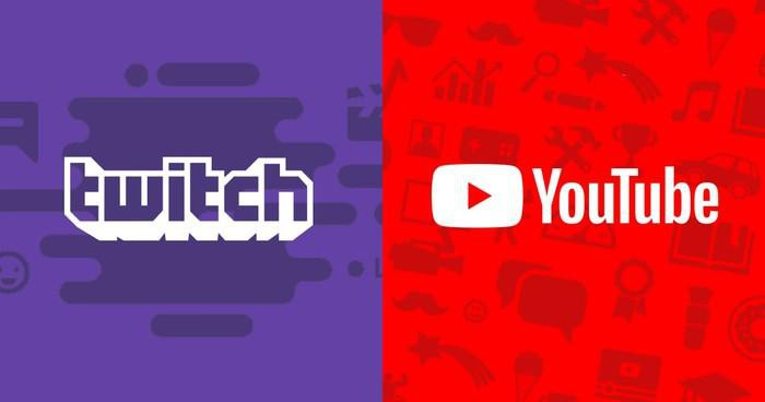 YouTube eta Twitch beste ikuspegi batetik