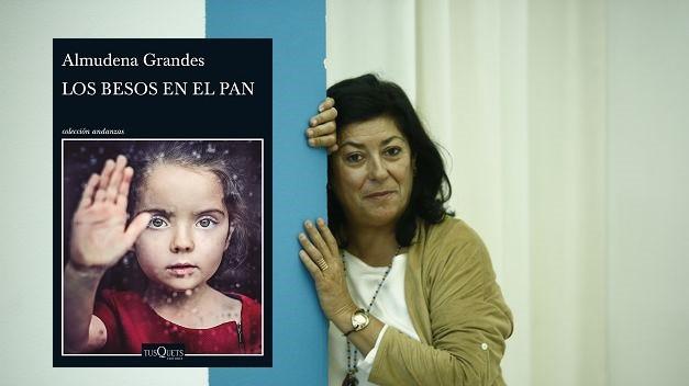 Almudena Grandesek 'Los besos en el pan' bere azken liburua aurkeztuko du