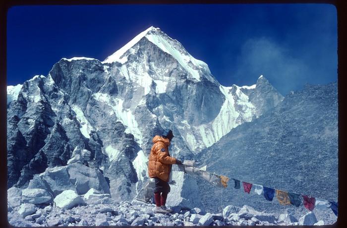 Euskal Espedizioa Everest gailurrean Emilio Hernandoren argazkietatik gogoratzen - 10