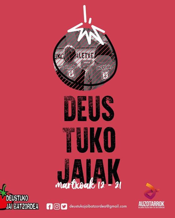 Aurrera doaz Deustuko Jaiak