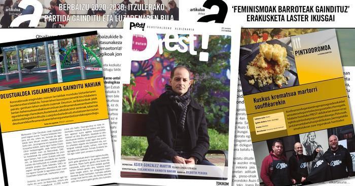 Martxoko PREST! aldizkaria digitalean bakarrik