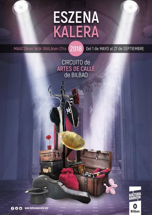 'Eszena Kalera' programa maiatzan helduko da Bilbora
