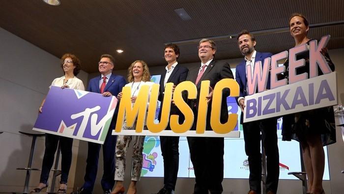 Musika asko baina euskara gutxi MTV Music Week astean