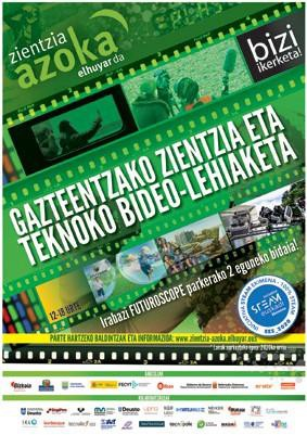 Zientzia eta teknoko bideo-lehiaketa Euskal Herriko gazteentzat