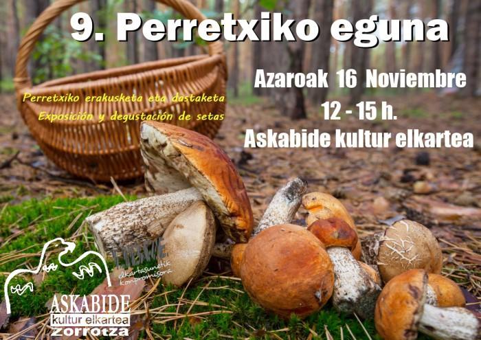 IX. Perretxiko eguna Askabide Kultur elkartean
