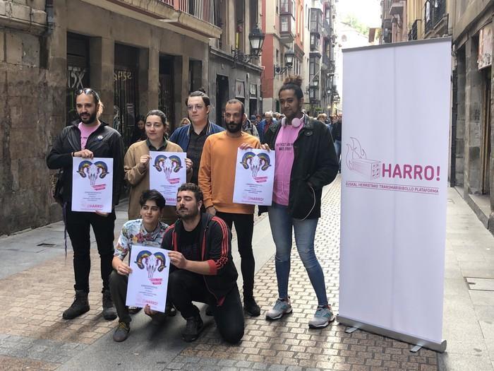 'Harro!' jaio da, Euskal Herrietako LGBTI elkarte ezberdinek osatutako plataforma