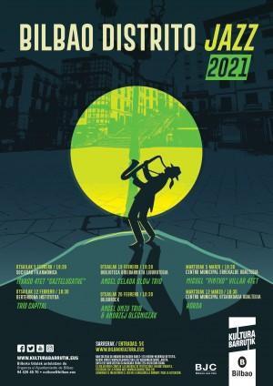 'Bilbao Distrito Jazz' jaialdiaren 21. edizioa inauguratuko da otsailaren 5an
