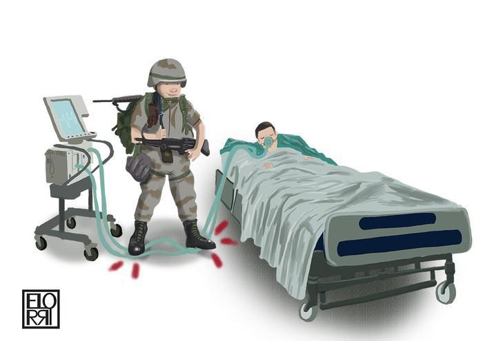 """Ibon Elorrieta: """"Osasun gastu gehiago, gastu militar gutxiago!"""""""