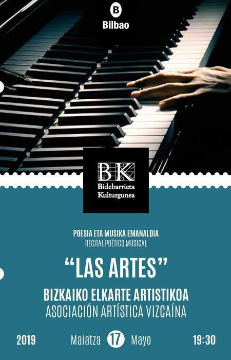 'Arteak' poesia eta musika errezitaldia