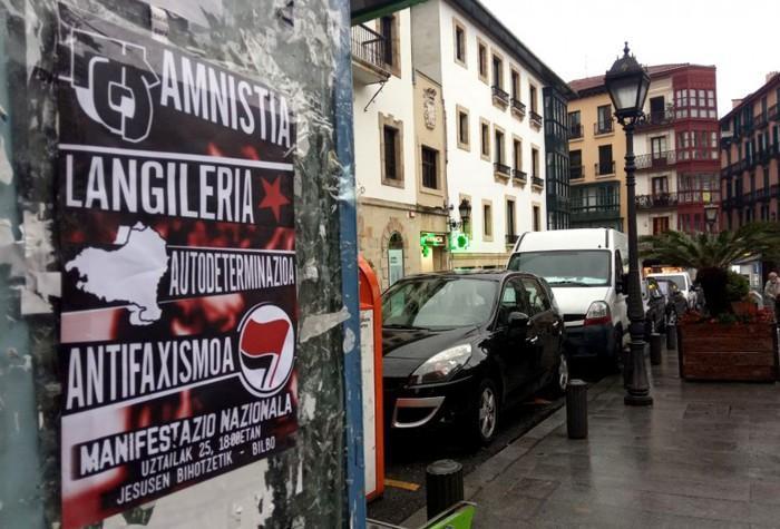 Manifestazioa deitu dute u25erako Bilbon amnistia, autodeterminazioa, langileria eta antifaxismoa aldarrikatzeko