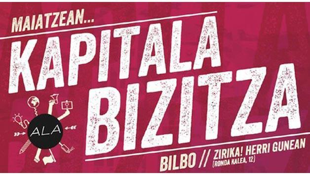 'Kapitala ala bizitza' jardunaldiak martxan Zirika gunean